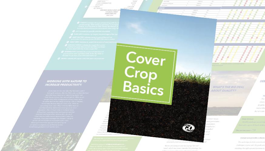 cover crop basics book