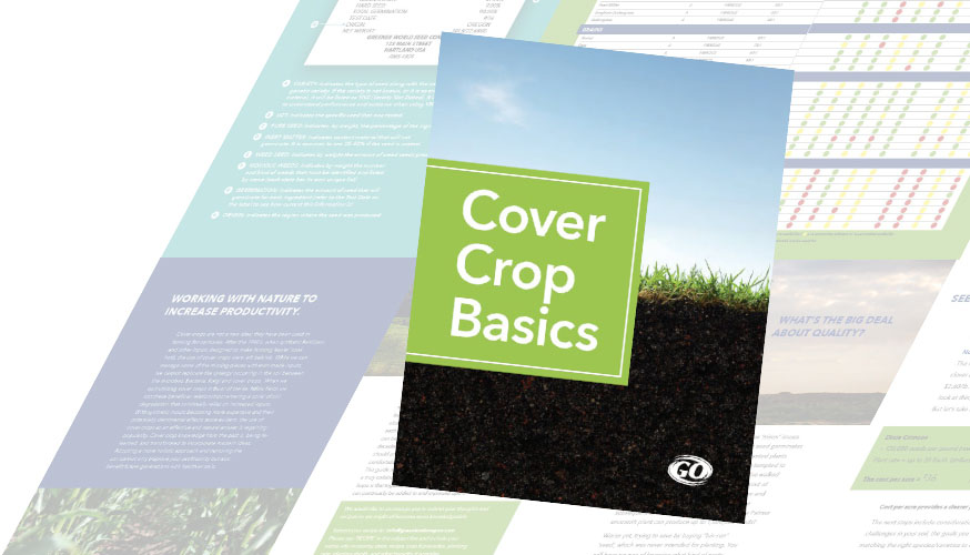 Cover Crop Basic Book