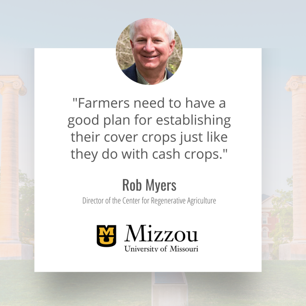 rob myers director of the center for regenerative agriculture